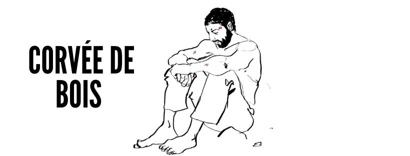 Corvée de bois – Un poème de Georges Garié